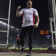 Libor Charfreitag is not a fan of the this year's new IAAF Hammer Challenge. Photo from TopAthletics.org.