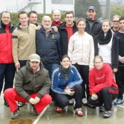 The Swiss hammer throwing community in Locarno.