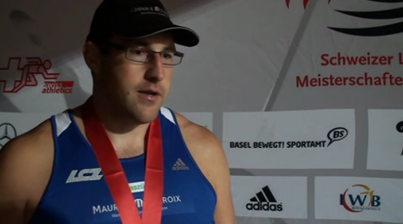 In an interview after the competition.