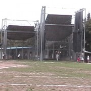 The main training rings in Szombathely, Hungary.