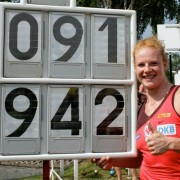 Betty Heidler's world record helped her earn first