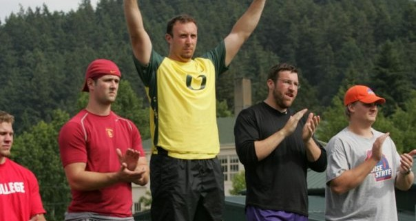 Back in my better looking days with a beard, Brian Richotte beat me for both the Pac 10 and NCAA Regional titles.