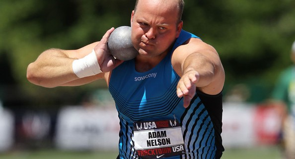 Adam Nelson was the U.S. Champion in 2011, 11 years after his first national title. Photo by Getty Images.