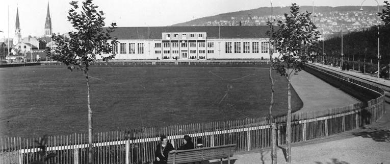 Sporthalle Sihlhölzli in 1935