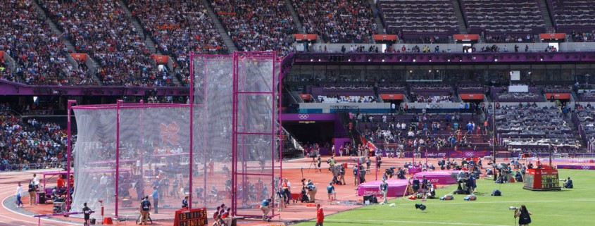 The London Olympic Stadium is just one of the Diamond League venues capable of hosting the hammer throw.
