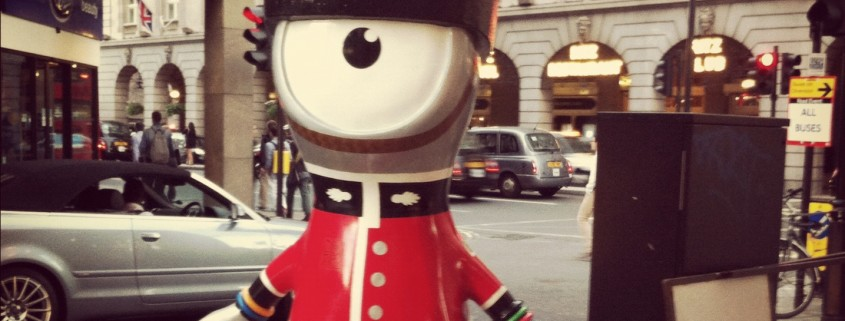 Wenlock, the Olympic mascot, grew on me throughout the Olympics.