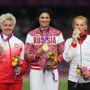 The medalists from London have shown they are once again the clear favorites in Moscow.