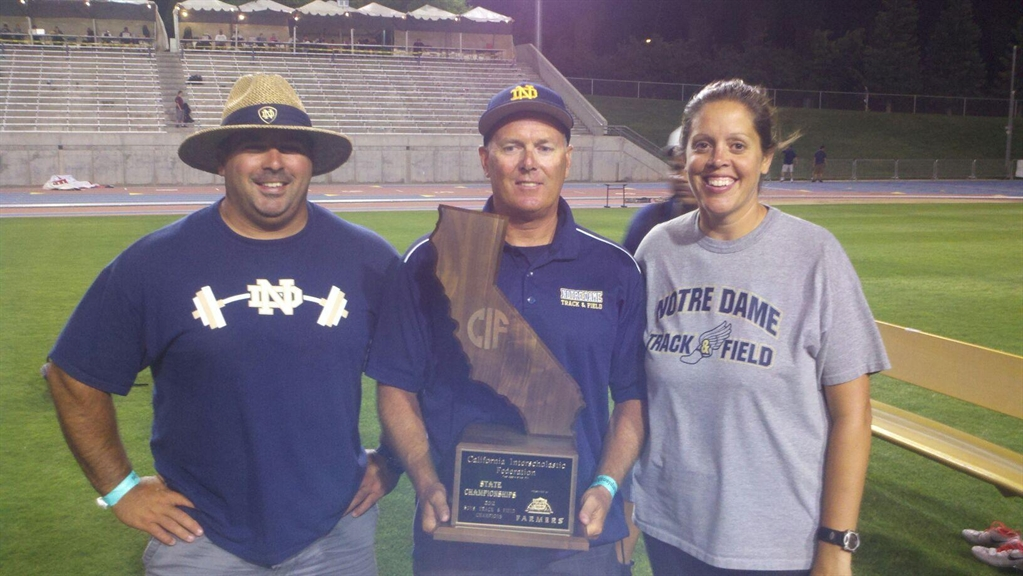 Notre Dame won the CIF championship in 2012.