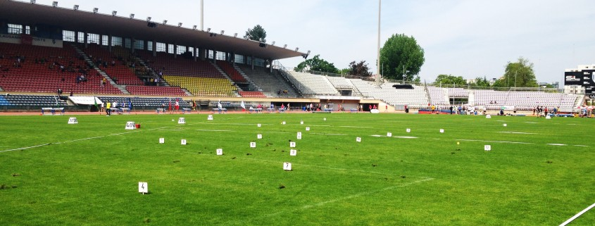 A few small divots shouldn't stop the hammer throw from being in the Diamond League, especially when the stadiums have hosted the hammer so many times before.