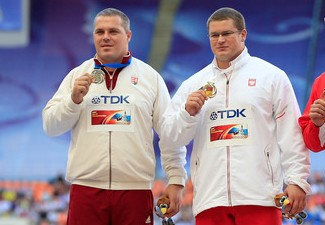 Fajdek (right) and Pars (left) won gold and silver in Moscow and are close at the top of the IAAF Hamme Challenge standings. However a quirk in the rules means that the final competition of the season might not even count for them.