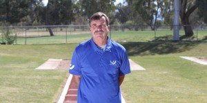 Coach Dan Pfaff at his facility in Arizona with the World Athletics Center.