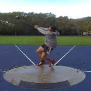 If I could hit this position with the competition hammer I'd be well on my way to 70 meters.