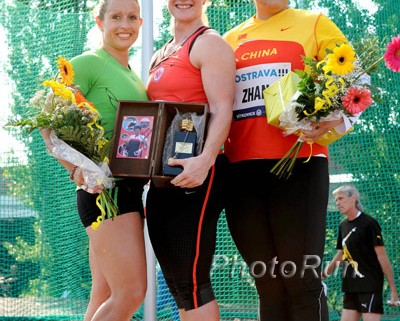 Body types still have a wide range, as shown by the podium at the 2011 Golden Spike meeting in Ostrava. Photo by Photo Run.