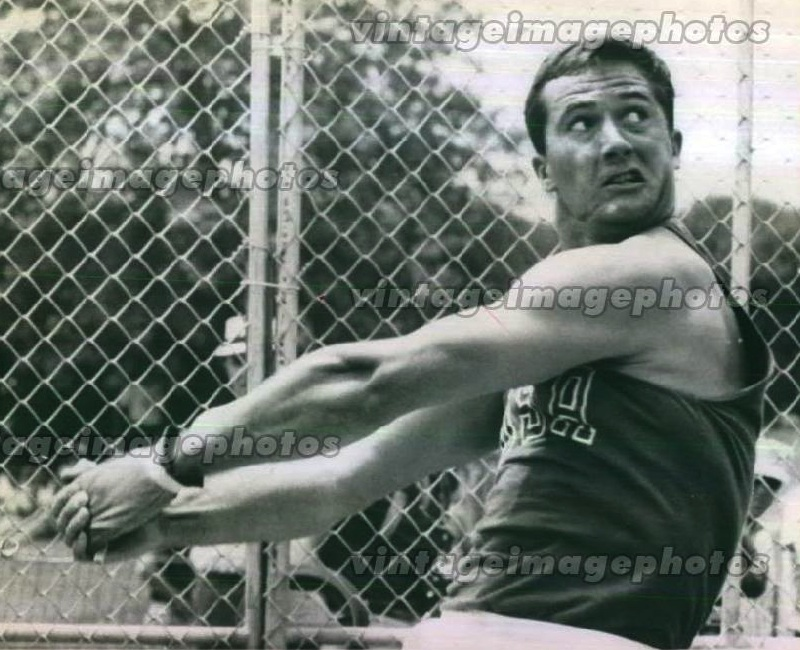 Ed Burke winning the first of three AAU National Championships in 1966.
