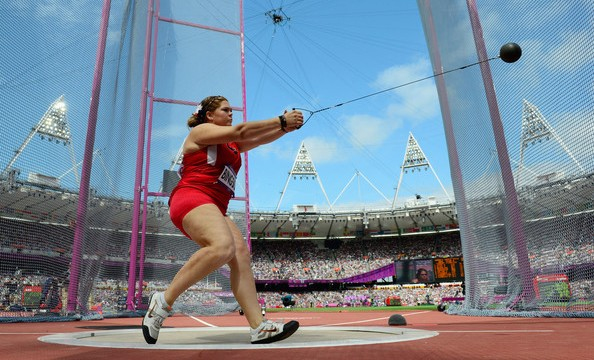 """American record holder Amanda Bingson is a great example of how a more """"European"""" approach to training still produces short-term results."""