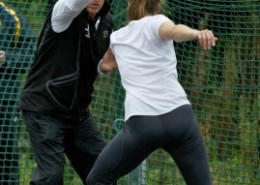 Hafsteinsson coaching at a workshop in Ireland. Photo courtesy of Athletics Ireland.