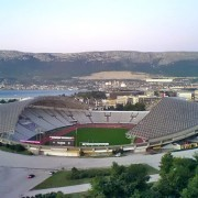 Stadion Poljud in Split, Croatia.