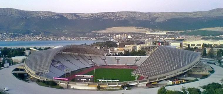 Stadion Poljud in Split, Croatia.