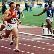 Bondarchuk also uses dual Olympic sprint champion Valery Borzov as an example when discussing the relationship between speed and maximum leg strength.