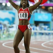 After a long collegiate season Perdita Felicien was still able to run a personal best to win the world title in 2003.