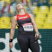 Which Betty Heidler will show up in Zurich?