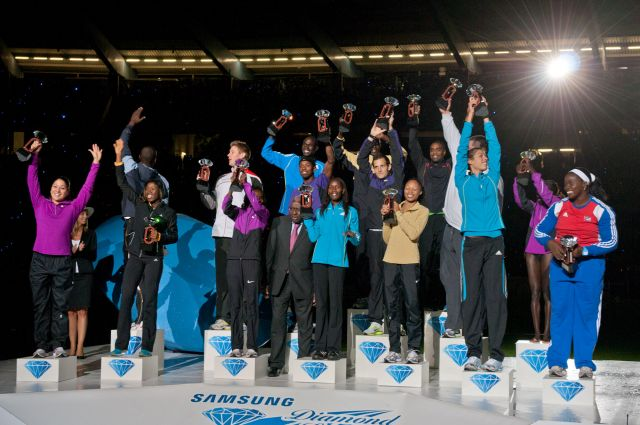 Everybody is a winner in the Diamond League.