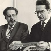 Yuri Verkhoshansky with Leonid Matveyev