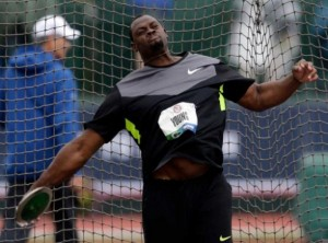HMMR Media's Jason Young is a favorite in the men's discus.