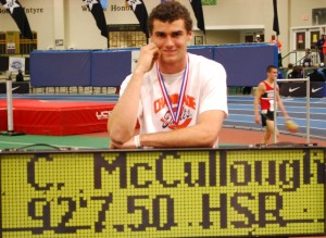 High school record holder Conor McCullough leads the nation and has a shot at taking home his first US title.
